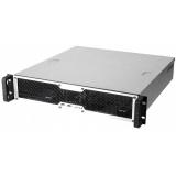 """Carcasa de rack Chembro, 19""""/2U/460mm, (493x460x88mm) (WxDxH), 1x3,5"""" si 1x5,25"""" externe si 2x3,5"""", 2x2,5""""interne,(toate bayurile de HDD sunt prevazute cu sistem de amortizare a vibratiei) 1x8cm cooler, low profile x7, 2x USB 2.0,"""