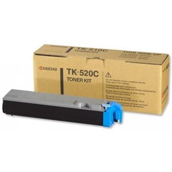 Cartus Toner Kyocera TK-520C Cyan 4000 Pagini for Kyocera Mita FS-C5015N