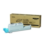 Cartus Toner Xerox 106R01218 Cyan High Capacity 12000 Pagini for Phaser 6360DN, 6360DT, 6360DX, 6360N