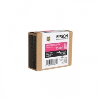 Cartus Cerneala Epson T580A Vivid Magenta 80ml for Stylus Pro 3800, Stylus Pro 3880 C13T580A00