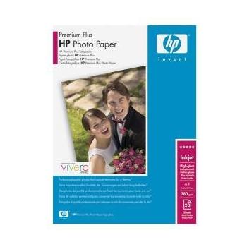 Hartie Foto HP C6832A Premium Plus High-glossy Photo Paper Dimensiune: A4 Numar coli: 20