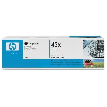 Cartus Toner HP Nr. 43X Black 38000 Pagini for LaserJet 9000, 9040, 9040 MFP, 9040DN, 9040N, 9050, 9050 MFP, 9050DN, 9050N C8543X