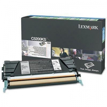 Cartus Toner Lexmark C5200KS Black 1500 pagini for C530DN