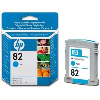 Cartus Cerneala HP Nr. 82 Cyan 28 ml for Designjet 10PS, Designjet 20PS, Designjet 50PS, Designjet 500, Designjet 800, Designjet CC800, Designjet 510 A0, Designjet 510 A1, Designjet 510PS A0, Designjet 510PS A1 CH566A
