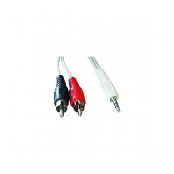 Cablu Audio Gembird CCA-458-2.5M 3.5mm jack la RCA 2.5m
