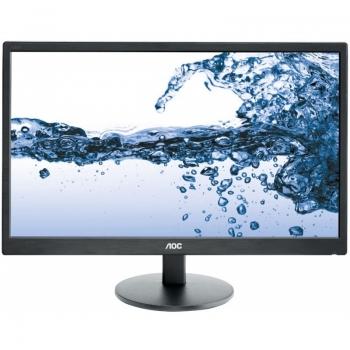 """Monitor LED Aoc 21.5"""" e2270swhn Full HD 1920x1080 VGA HDMI 5ms"""