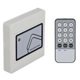 Controler cu cititor de proximitate incorporat YK-45R pentru interior, stand-alone, cu telecomanda.Cartele 125KHz (EM4100 sau compatibil),Capacitate 2000 de cartele sau taguri