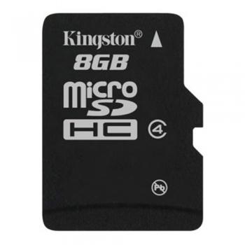 Card Memorie MicroSDHC Kingston 8GB Clasa 4 SDC4/8GBSP