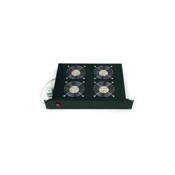 Cooler rack Triton RAB-CH-X04-X3 Top (bottom) fan unit, 4fans 220V/60W, thermostat , black