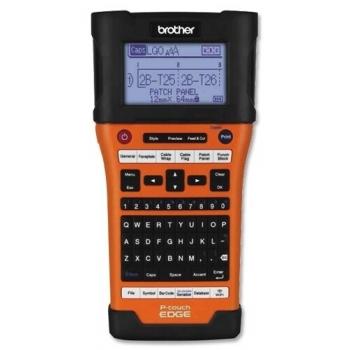 Brother P-Touch PT-E550W | Viteza de printare 30 mm/sec | Rezolutie 180 DPI | Automat | 1.05 kg | 126 x 250 x 94 mm | Brother | PTE550WVPYJ1 | 6 mm | 9 mm | 12 mm | 18 mm | 24 mm | Alimentare externa si baterie Li-Ion standard. Optional 6 baterii A