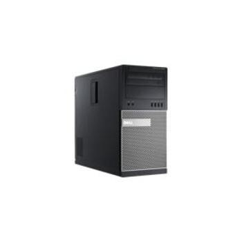 Desktop Dell Optiplex 9020MT, Intel Core i7-4790 (3.6GHz, 8MB Cache), Intel Integrated Graphics, RAM 8GB (2x4GB) 1600MHz DDR3, HDD 500GB 3.5inch Serial ATA (7,200 Rpm), DVD+/-RW, LAN 10, 100, 1000, Porturi: 6xUSB2.0, 4xUSB3.0, VGA, 2xDisplay, 2xPS2, RJ-45