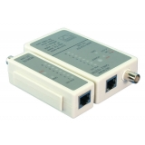 Tester cablu RJ45 / BNC Logilink WZ0011