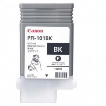 Pigment Ink Tank Canon PFI-101BK Photo Black 130 ml for iPF5000 CF0883B001AA