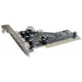 Adaptor PCI - USB 2.0 Gembird UPC-20-4P la 4 x USB 2.0