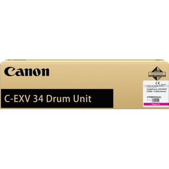 Unitate Cilindru Canon C-EXV34M Magenta 36000 Pagini for IR Advance C2020L, IR Advance C2030L CF3788B003BA