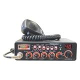 Statie radio CB President JACKSON II ASC - HIGH 40 CH, AM/FM/USB/LSB, Multi Norme, VOX, Roger Beep, SWR TXMU313