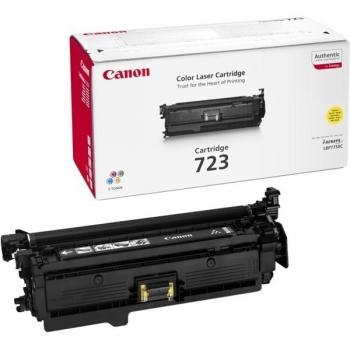 Cartus Toner Canon CRG-723Y Yellow 8500 Pagini for LBP 7750CDN CR2641B002AA