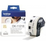 Rola Etichete Brother DK11218 round paper Dimensiune 24mm black on white 1000 de bucati