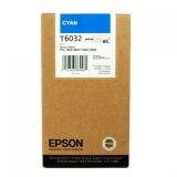 Cartus Cerneala Epson T6032 Cyan 220ml for Stylus Pro 7800, 7880, 9800, 9880 C13T603200