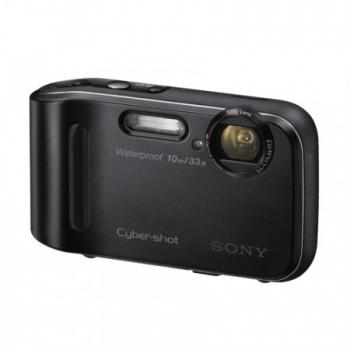 Camera Foto Digitala Sony Cyber-Shot DSC-TF1 16.2 MP Zoom Optic 4x OIS Waterproof Black DSCTF1B.CE3