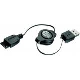 Cablu incarcator retractabil USB SwissTravel pentru Siemens SRCC-18