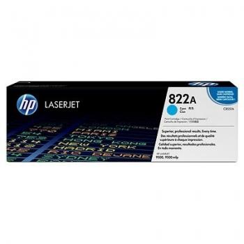 Cartus Toner HP Nr. 822A Cyan 25000 Pagini for Color LaserJet 9500 C8551A