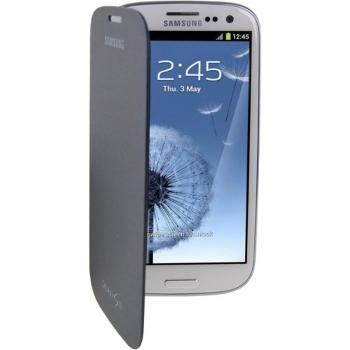 Husa Samsung Flip Cover pentru i9300 Galaxy S III blue EFC-1G6FBECSTD
