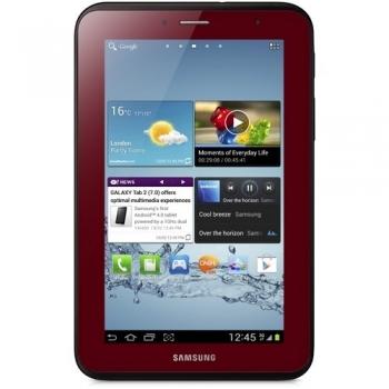 "Tableta Samsung Galaxy Tab2 P3100 Garnet Red 3G ARM Cortex A9 Dual Core 1.0GHz 7"" 1024x600 1GB RAM memorie interna 8GB Android 4.0 SAMP31008GBRED"