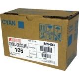 Cartus Toner Ricoh Type 105 Cyan 10000 pagini for Ricoh Aficio AP 3800, Aficio CL 7000, Aficio CL 7100 885409