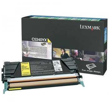 Cartus Toner Lexmark C5340YX Yellow Extra High Yield Return Program 7000 pagini C534DN, C534DTN, C534N