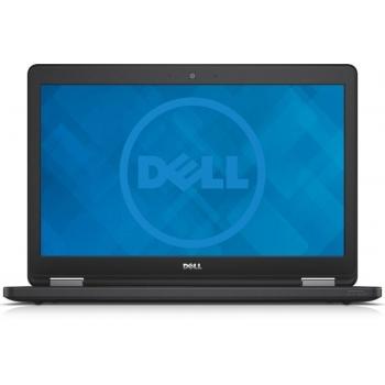 """Laptop Dell Latitude E5550, 15.6"""" FHD (1920x1080) Non-Touch Anti-Glare LCD, Intel Core i5-5300U (Dual Core, 2.3GHz, 3M), Video dedicat Nvidia GeForce 830M 2G, RAM 8GB (1x8GB) 1600MHz DDR3L, SSD 256GB, no ODD, Card-reader, Boxe inalta calitate, Camera"""