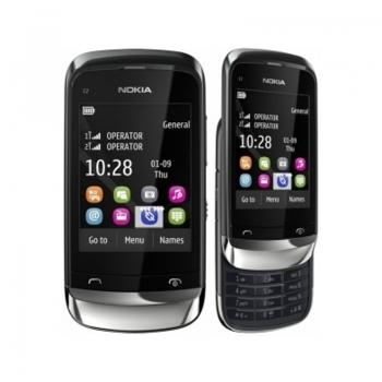 Telefon Mobil Nokia C2-06 Graphite Dual Sim NOKC2-06