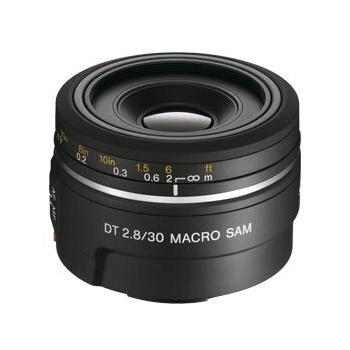 Obiectiv foto Sony 30mm F2.8 MACRO SAL30M28.AE
