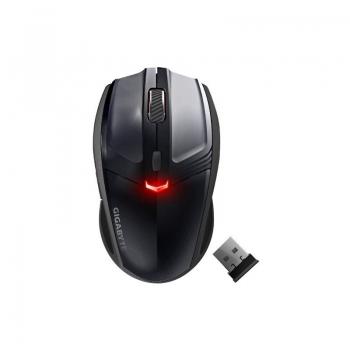 Mouse Wireless Gigabyte ECO500 Laser 1600dpi 3 butoane negru