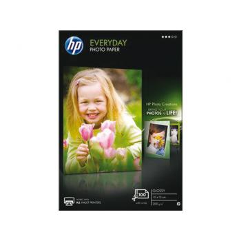 Hartie Foto HP CR757A Everyday Glossy Dimensiune 4x6inch Numar coli 100