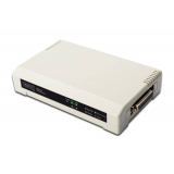 Digitus Printserver 10/100Mbps 2xUSB2.0 + 1xLPT