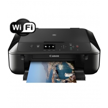 Multifunctional inkjet Color Canon Pixma MG5750BK A4 12.6 ipm Wireless USB Duplex CH0557C006AA