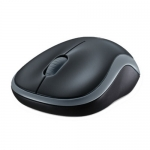 Mouse Wireless Logitech M185 Nano Optic 3 Butoane 1000 dpi USB Swift Grey 910-002238