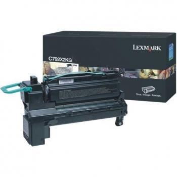 Cartus Toner Lexmark C792X2KG Black Extra High Yield 20000 pagini for C792DE, C792DHE, C792DTE, C792E