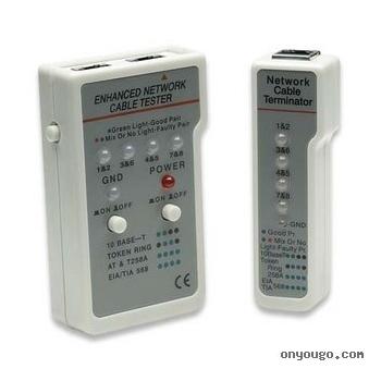 Tester cabluri Intellinet multifunctional RJ-45/RJ-11 351898