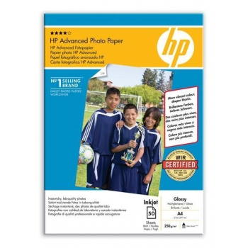 Hartie Foto HP Q8698A Advanced Glossy Photo Paper Dimensiune: A4 Numar coli: 50