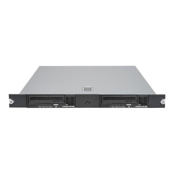 Rackmount LTO Tandberg 1U SAS supports up to 2 LTO HH SAS drives. 3512-LTO