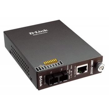 Convertor Media Dlink DMC-515SC 10/100 to 100BaseFX (SC) Singlemode 15km