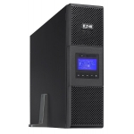 Eaton 9SX 6000i RT3U, tower/rack 3U, topologie Online-DublaConversie cu sistem PFC, ecran LCD grafic, 6kVA, 5.4kW, intrare TB 10mm, iesiri TB, 2x4 IEC C13, 2x IEC C19 (16A), management de baterie Eaton ABM si TCCM, porturi USB, RS232 remote on/off si po