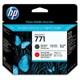 Cap Printare HP Nr. 771 Matte Black & Chromatic Red for Designjet Z6200 42', Designjet Z6200 60' CE017A