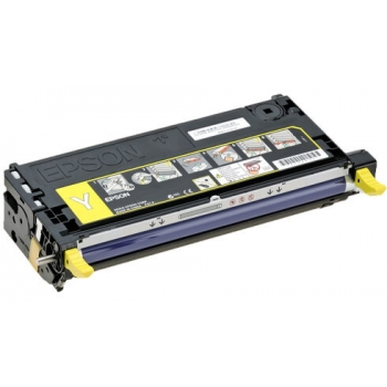 Cartus Toner Epson C13S051128 Yellow 5000 Pagini for Aculaser C3800DN, C3800DTN, C3800N