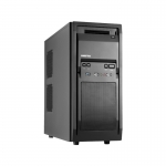 Carcasa Middle Tower Chieftec Libra LF-02B-OP Ventilatoare 1x120mm 2x USB 2.0 1x USB3.0 2x jack 3.5mm black