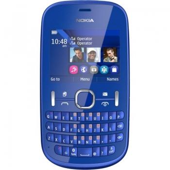 Telefon Mobil Nokia Asha 201 Blue NOK201BL