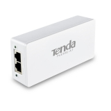 PoE (Power Over Ethernet) Injector, IEEE 802.3at compatibil, carcasa plastic, plug & play TENDA