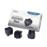 Cartus Cerneala Solida Xerox black 3 Sticks capacitate 3000 pagini for Xerox Phaser 8500, Phaser 8550, Phaser 8560DN, Phaser 8560DT, Phaser 8560DX, Phaser 8560N 108R00668